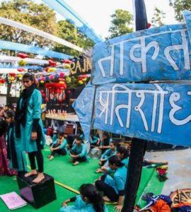 Hinsa ke Viruddh – Dharmyuddh